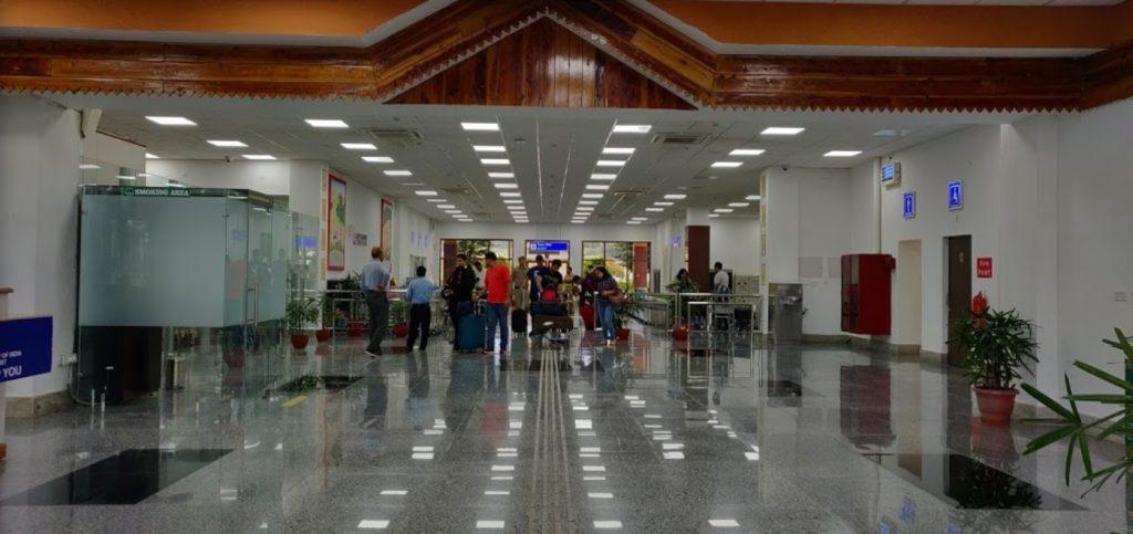 Gaggal Airport, Kangra airport
