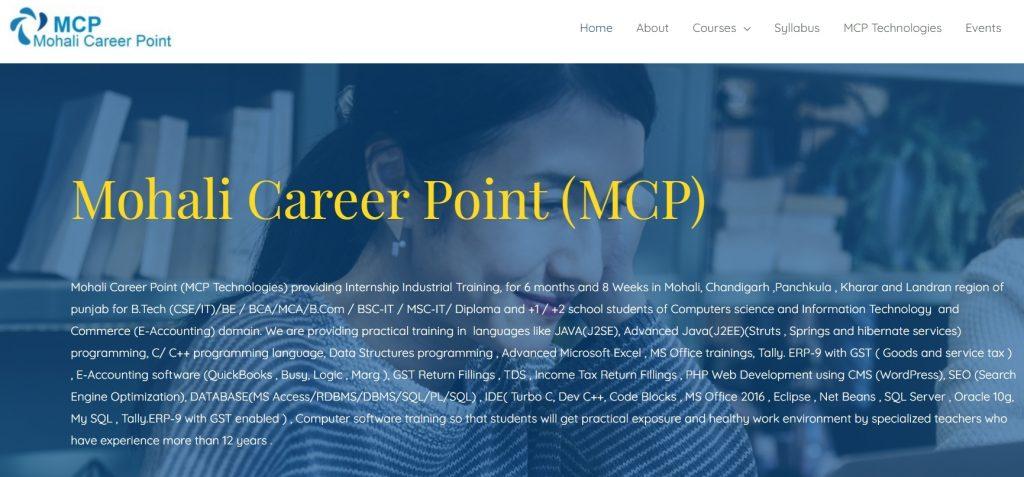 Mohali career point