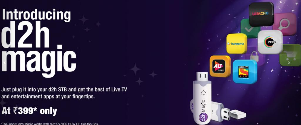 videocon d2h online web portal: Best DTH Service