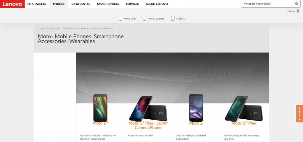 Lenovo (Motorola) online website