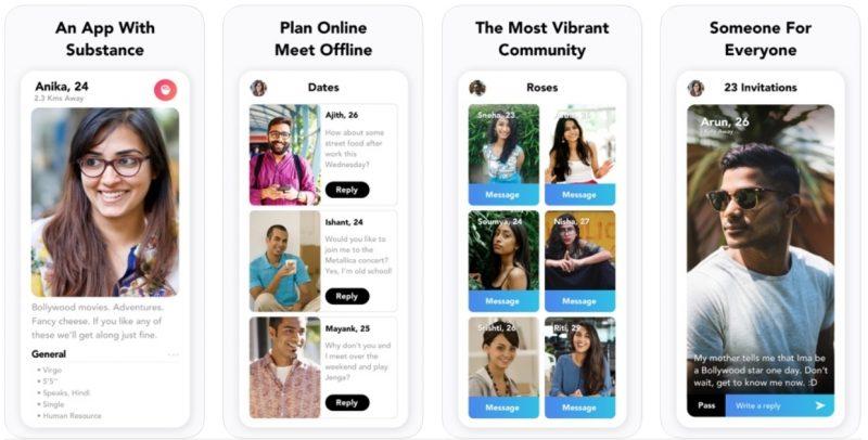 Aisle dating app