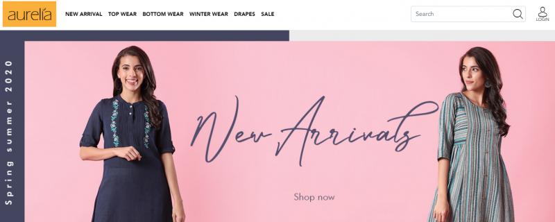 aurelia women clothing brand