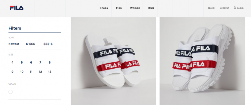 FILA sandles and slips for men