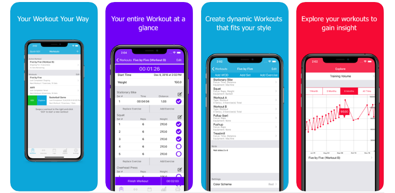 FitNotes-Gym Workout Log best fitness app