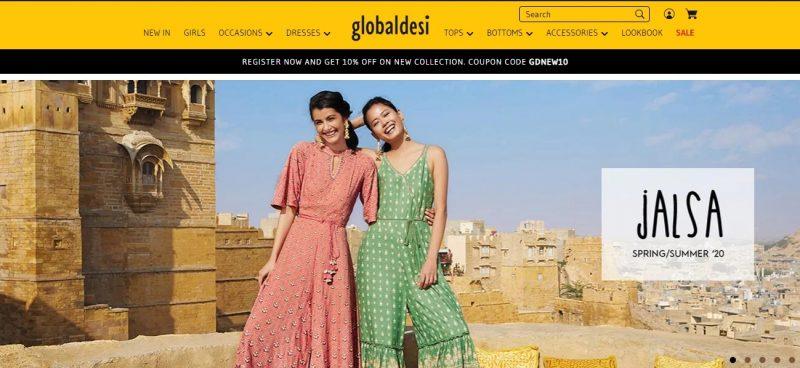 Global Desi women clothing brand