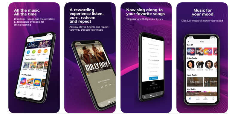 Hungama Best Music streaming App