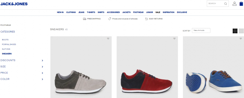 Jack & Jones best shoes for men