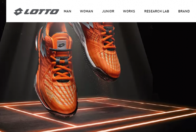 Lotto shoe brand in india