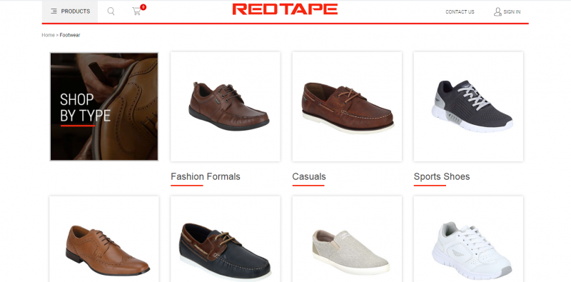 Red Tape best shoe brand for men