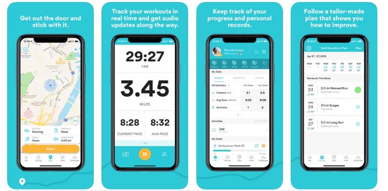 Runkeeper-GPS Track Run Walk best fitness app
