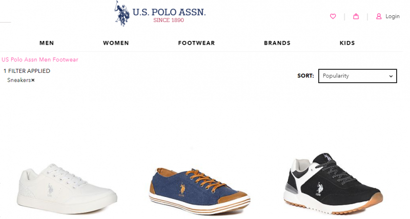 U.S. Polo best shoes for men