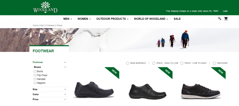 Woodland best shoes for men