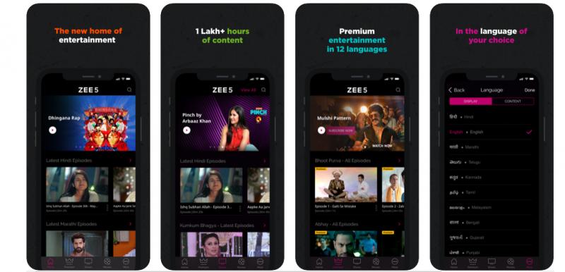 Zee 5 Best T.V. App
