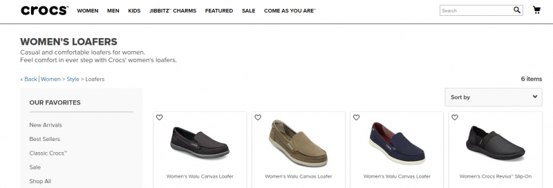 Crocs shoe brand for women