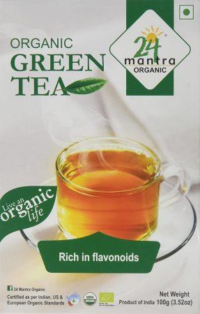24 Mantra Organic India: Best Green Tea brand