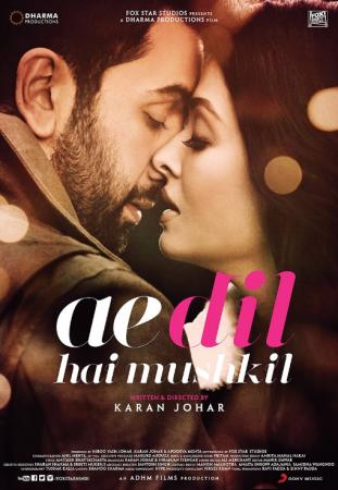 Ae Dil Hai Mushkil (imdb- 5.8) Bollywood Love Story Movie
