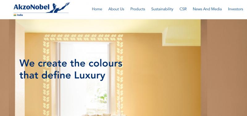 Akzo Nobel India Ltd: best paint brand