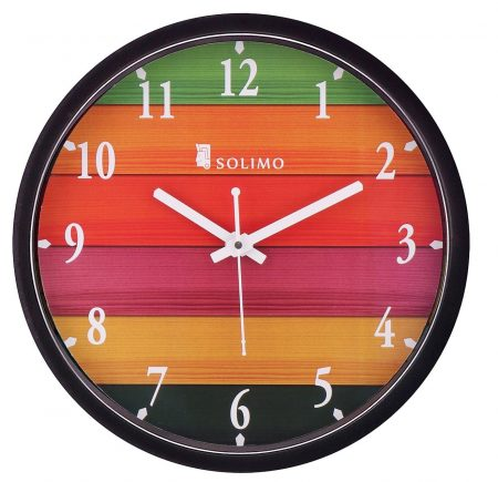 Amazon Brand Solimo 12-inch Wall Clock: Best Wall Clock In India
