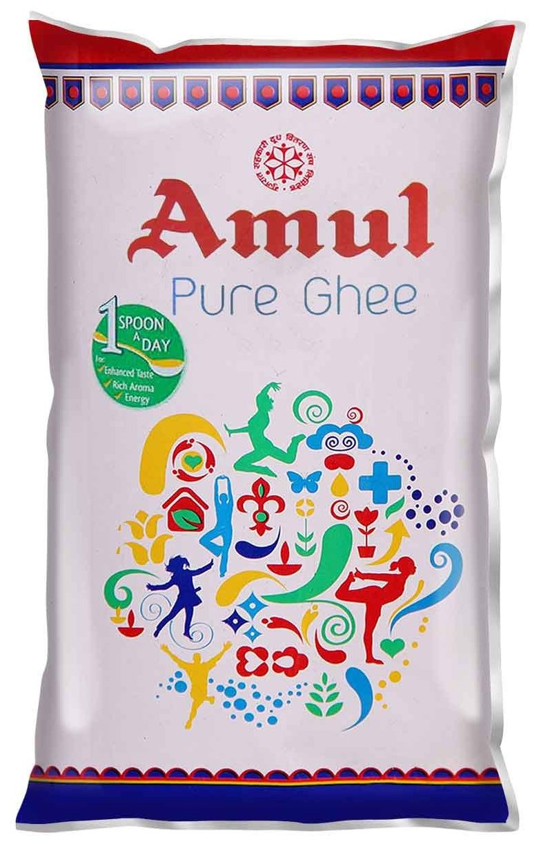 Amul pure ghee pouch Best Ghee Brand In India