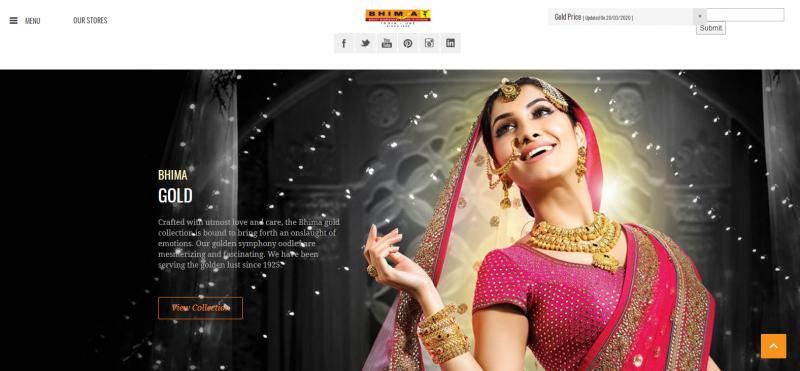 Bhima Jewellers: Jewellery Brand In India
