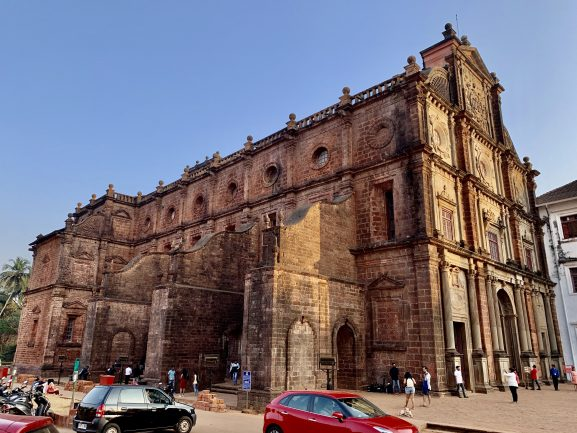 Bom Jesus Basilica: Place To Visit In Goa