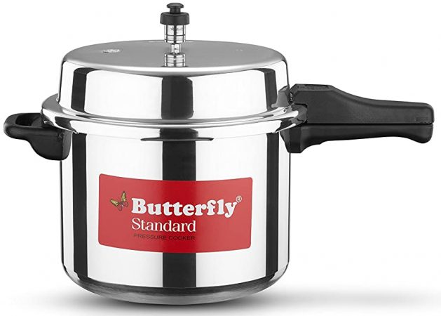 Butterfly Standard Aluminium Pressure Cooker 7.5L Best Rice Cooker In India
