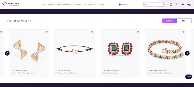 Caratlane Best Jewellery Brand In India
