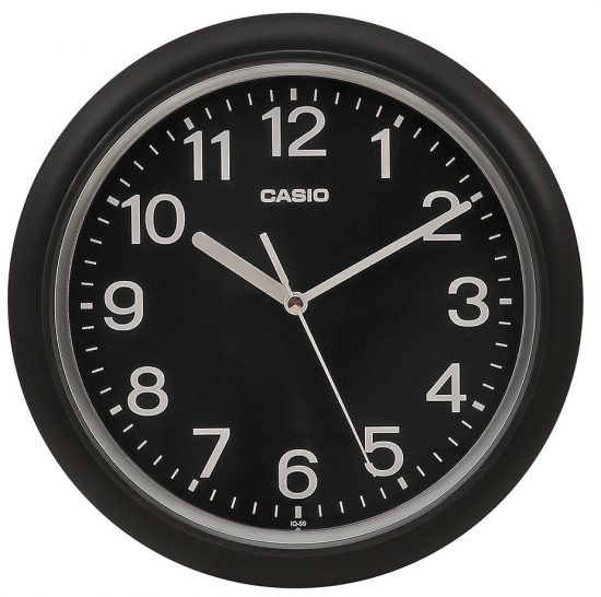 Casio IQ-59-1BDF Analog Wall Clock: Best Wall Clock In India
