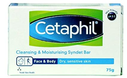 Cetaphil Cleansing & Moisturising Syndet Bar: Best Soap For Women