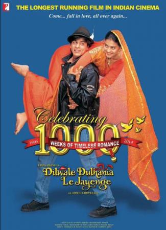 Dilwale Dulhaniya Le Jayenge (imgb- 8.1) Best 90s Bollywood Romantic Movie