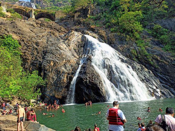 Dudhsagar Waterfalls: Place To Visit In Goa