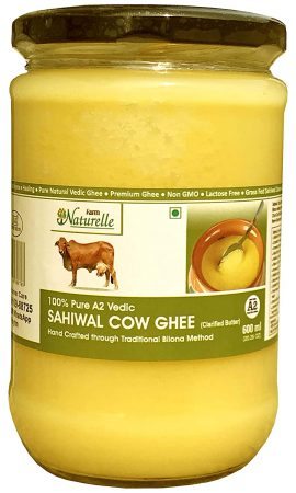 Farm Naturelle 100% Pure Desi Cow Ghee Best Ghee Brand In India