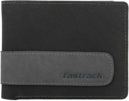 Fastrack blue and grey casual wallet Best Wallet Under INR 1500/-