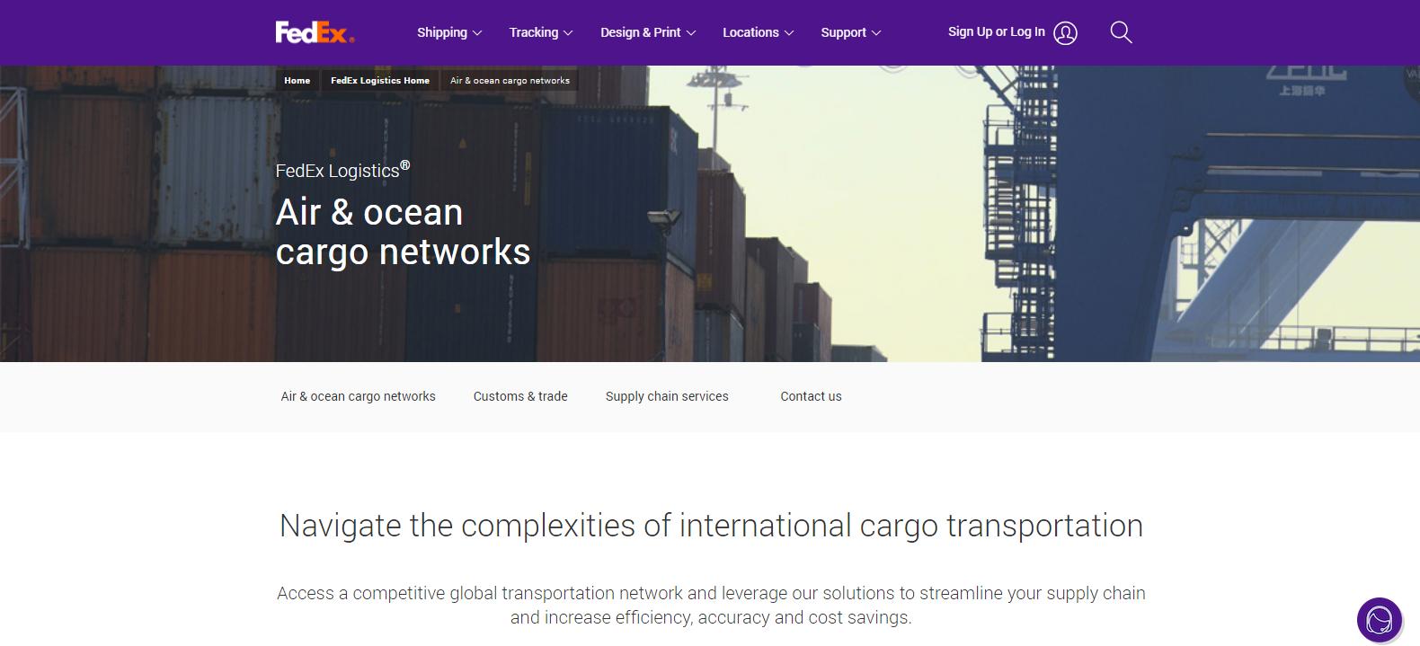 FedEx Logistics Best Logistics Company
