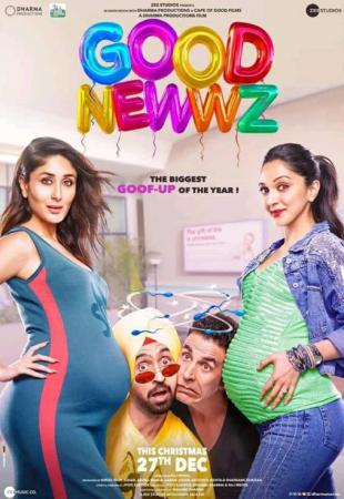Good Newwz (imdb -7.1) Bollywood Romantic Movie