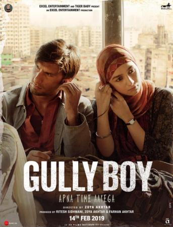 Gully Boy (imdb- 8.2) Bollywood Romantic Movie