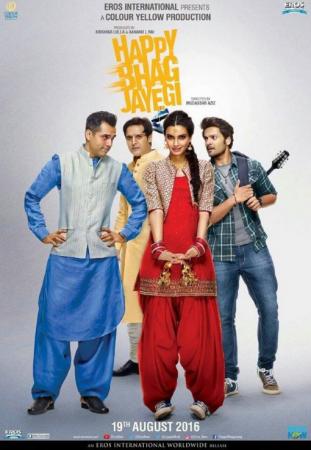 Happy Bhaag Jayegi (imdb- 6.5) Bollywood Romantic Movie