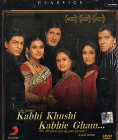 Kabhi Khushi Kabhi Gam (imdb- 7.4) Bollywood Romantic Movie