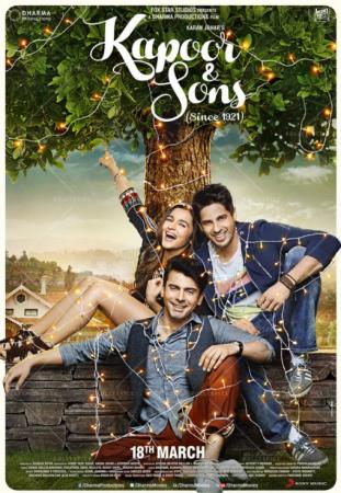 Kapoor & Sons (imdb- 7.7) Bollywood Romantic Movie