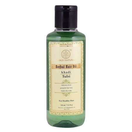 Khadi Natural Tulsi Herbal Hair Oil Best Hair Oil
