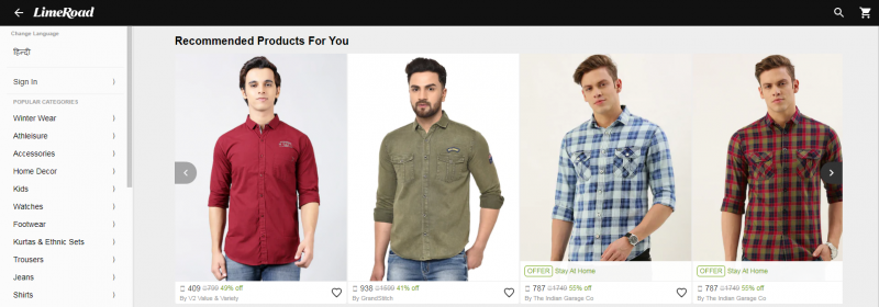 Limeroad.com: Online Clothing Store