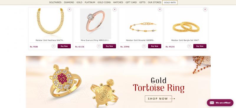 Malabar Gold and DiamondsBest Jewellery Brand In India