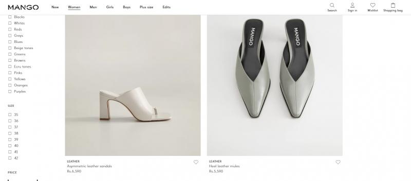 Mango: Women's Footwear Brand