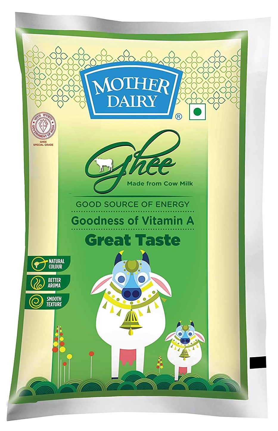 Mother Dairy Cow Ghee