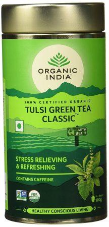 Organic Idea Tulsi Green Tea: Best Green Tea