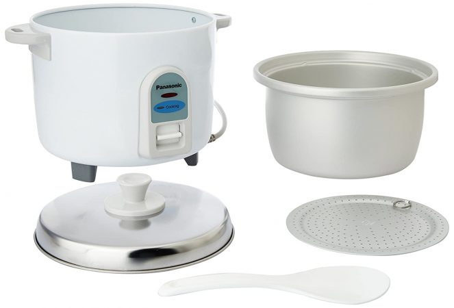 Panasonic SR-WA10 450-Watt Automatic cooker without Warmer Best Rice Cooker In India