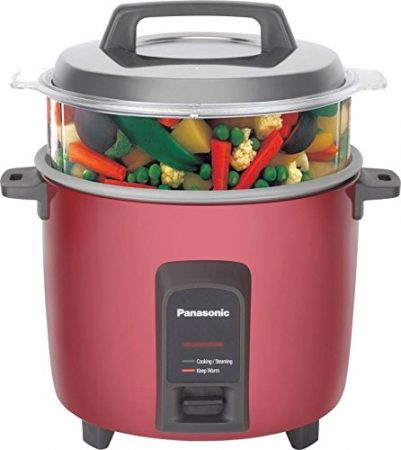 Panasonic SR-Y18FHS 660-Watt Automatic Electric Cooker Best Rice Cooker In India