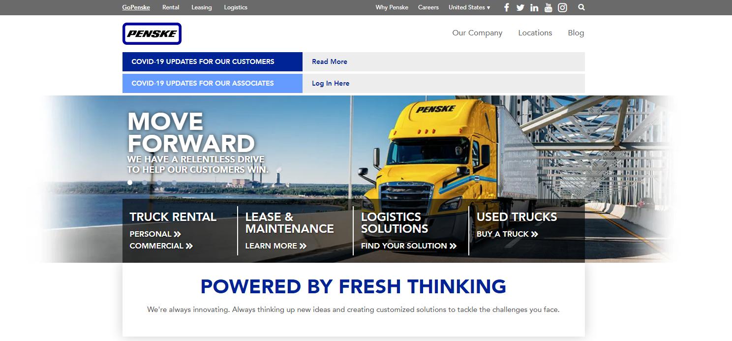 Penske Logistics Best Logistics Company