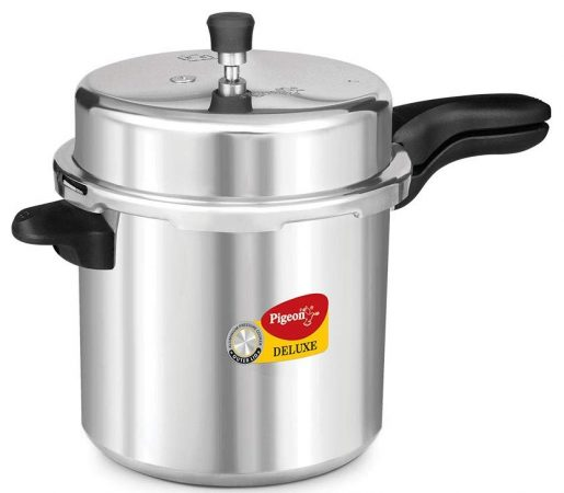 Pigeon by Stovekraft Deluxe Aluminium Pressure Cooker Best Rice Cooker In India
