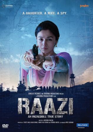 Raazi Best Hindi Movie On Amazon Prime